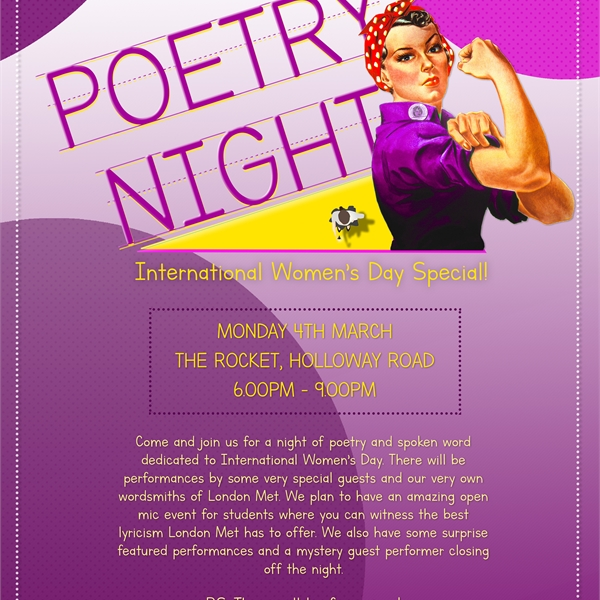 International Women's Day Poetry Event
