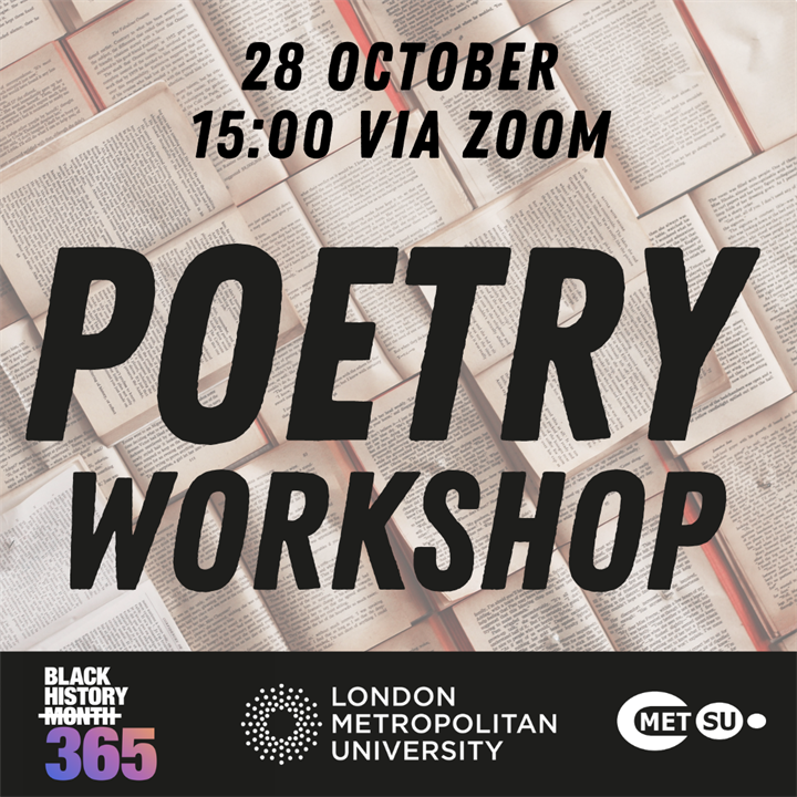 Black History 365: Open Space Poetry Workshop